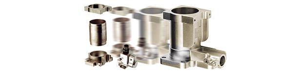 Integration von 4 Teilkomponente in eine nahtlose integrierte One-Piece Metall- Spritzgussteil