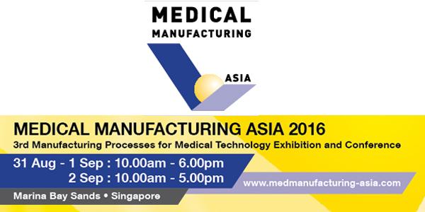 Die medizinische Fertigung Asia 2016