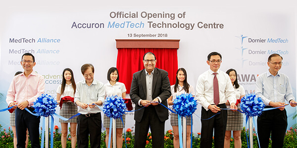 AMT to extend advance manufacturing capabilities to Accuron MedTech's new S$10m technology centre in Tuas