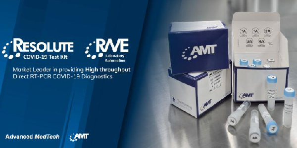 RESOLUTE and RAVE: The industry-first SARS-COV-2 direct RT-PCR diagnostic kit and its complementary lab automation system